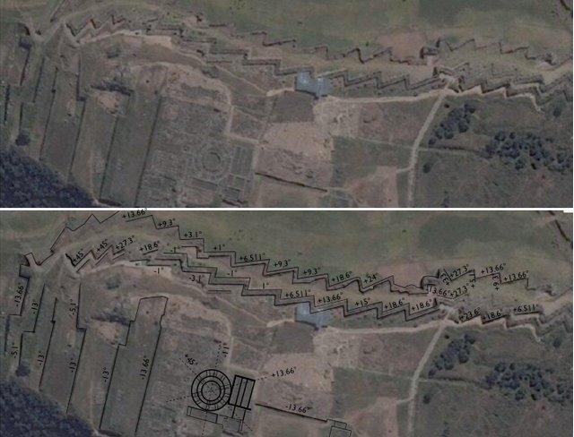 Escrita oculta de 30.000 anos em Sacsayhuamán poderia reescrever nossa história 2