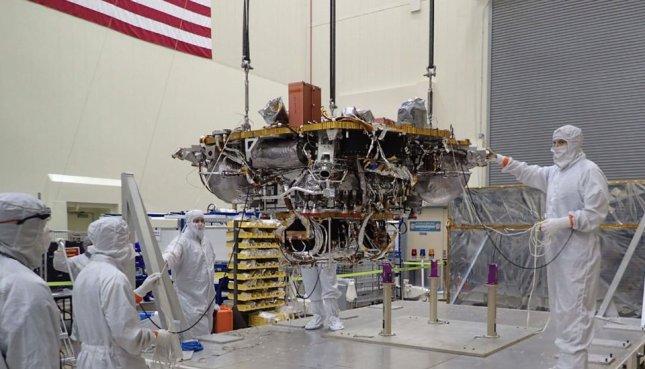 próxima missão da NASA a Marte em 2018