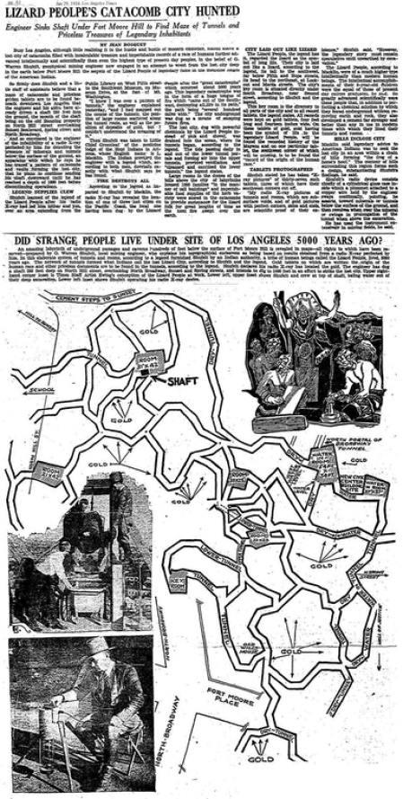 O povo lagarto do subterrâneo de Los Angeles 2
