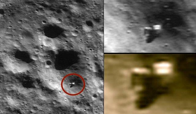 maquinário alienígena em asteroide