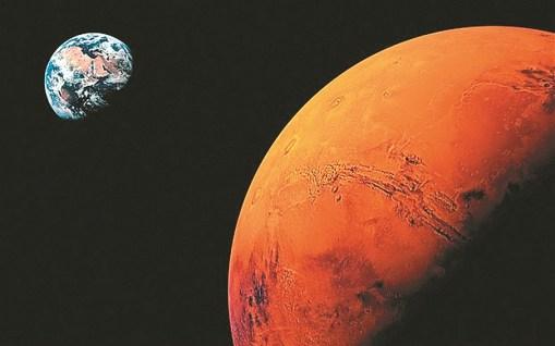 A crosta de Marte enrijeceu rapidamente, aumentando a possibilidade de vida