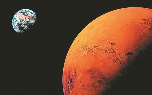 Marte estará muito próximo da Terra