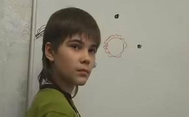 O menino que diz ter vivido em Marte