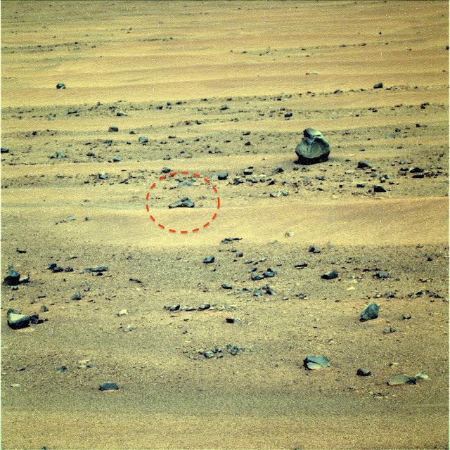 Seriam estas ruínas de degraus em Marte? 2