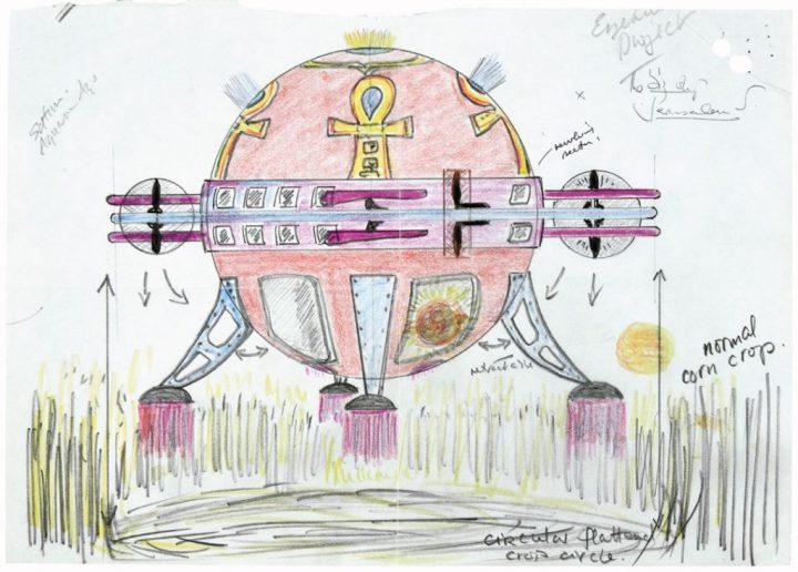 Desenhos de OVNIs são liberados pelo Ministério da Defesa do Reino Unido 1