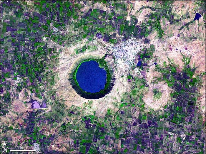 Anomalia magnética é detectada em lago da Índia 1