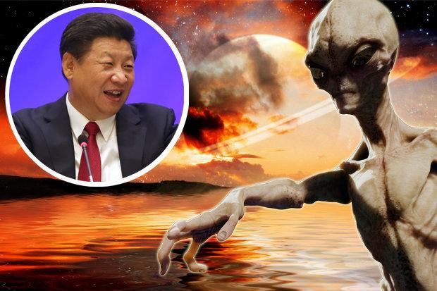 contato alienígena pode desencadear uma guerra global