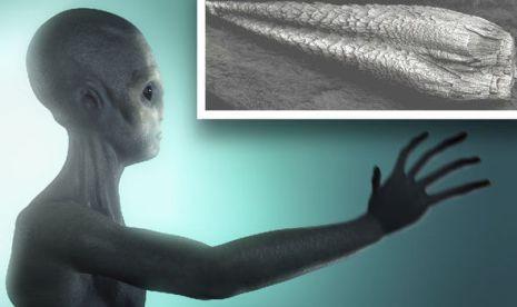 Governo dos EUA admite estar em posse de metal alienígena