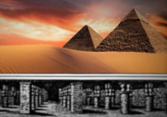 Um enorme mundo subterrâneo existe abaixo das Pirâmides de Gizé