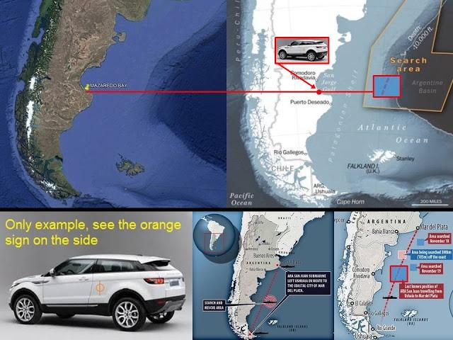 """Argentina: Atividade estranha na Baía Mazaredo, com pessoas se comunicando com """"algo"""" do mar 3"""