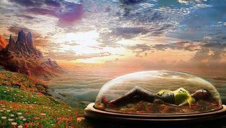 quando sonhamos, viajamos para universos paralelos