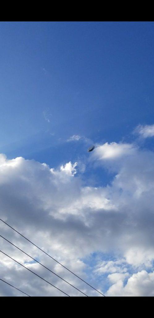 Homem alega ter tirado foto de disco voador com ocupantes nórdicos dentro 2