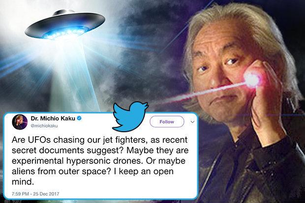 OVNI pode ter sido drone hipersônico ou alienígena
