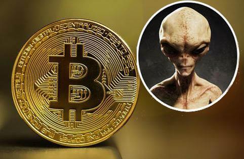 O Bitcoin foi criado por alienígenas