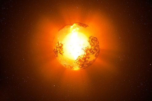 Diminuição do brilho de estrela não é devido a alienígenas