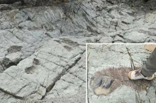 Pegadas na rocha podem comprovar que gigantes habitaram a América