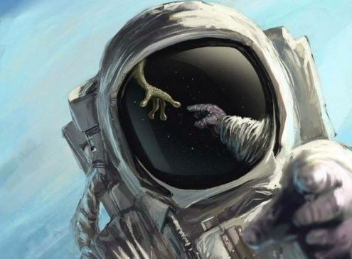 astronautas foram forçados a não falarem sobre OVNIs e extraterrestres