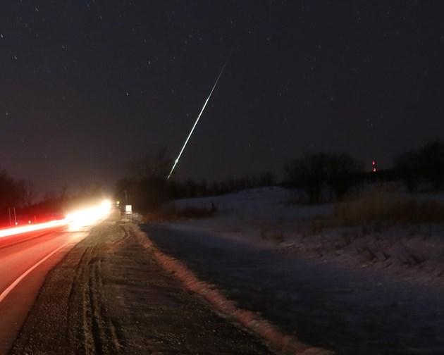Incidência de meteoros