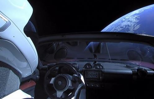 Elon Musk enviou ao espaço