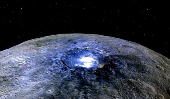 O planeta anão Ceres está em evolução