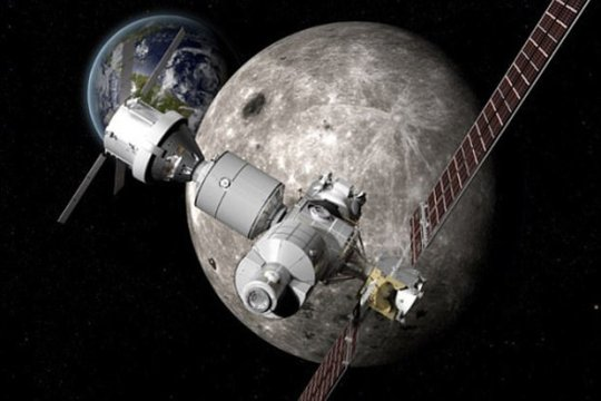 NASA anuncia estação espacial em órbita da Lua