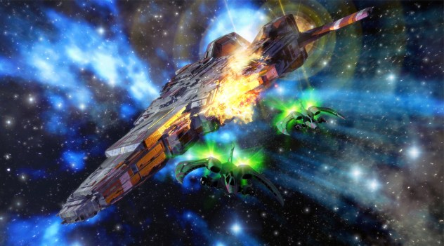 Teriam os astrônomos recém detectado uma batalha real no espaço