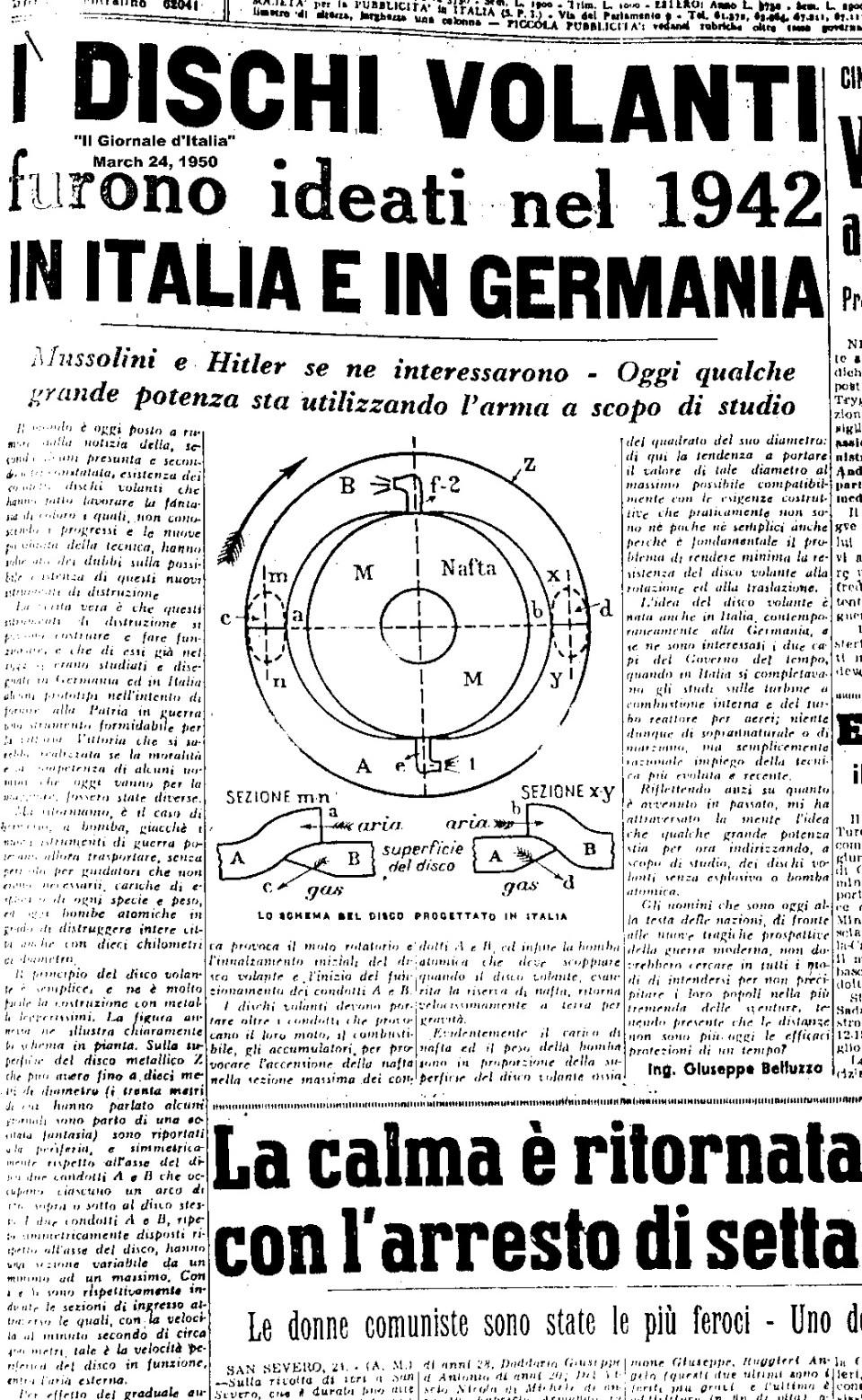 Documentos da CIA sugerem que os nazistas realmente construíram OVNIs 2
