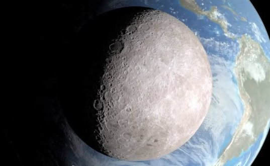 China está prestes a pousar no lado oculto da Lua