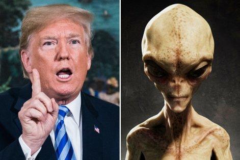 Trump quer que NASA procure por alienígenas