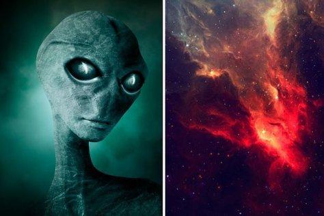 Alienígenas estão colecionando estrelas