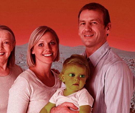 Bebês nascidos em Marte