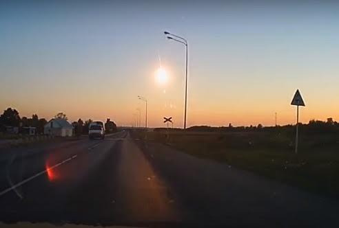 Meteoro explode sobre a Rússia