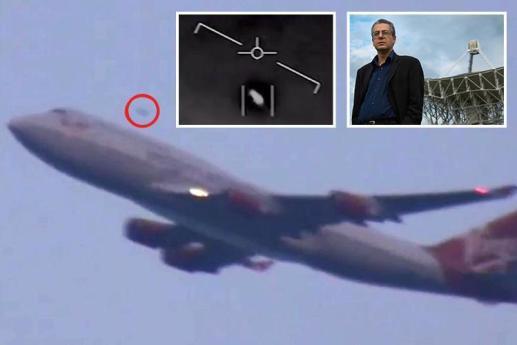 OVNIs frequentemente passam perto de aeronaves