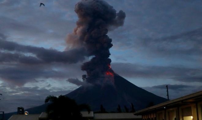 Atividade vulcânica ao redor do mundo nos últimos dias 4