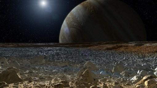 vida em lua de Júpiter