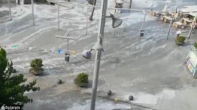 Meteotsunami atinge balneários espanhóis de Majorca e Menorca