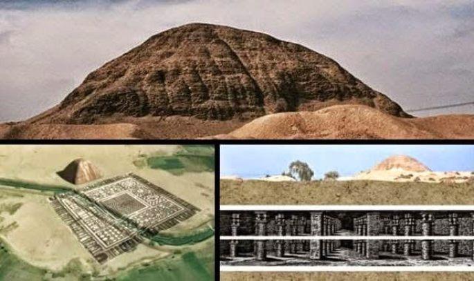 enorme labirinto no Egito está sendo ocultado do público
