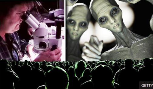 Prova de implante alienígena? Nanotecnologia ET
