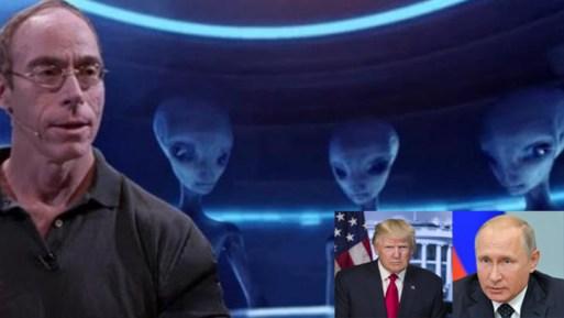 Pesquisador de OVNIs escreve discurso a ser entregue para Trump e Putin