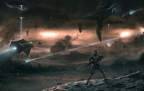 guerra contra civilizações alienígenas