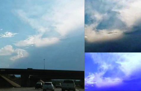 Enorme triângulo é filmado no céu de Kansas City
