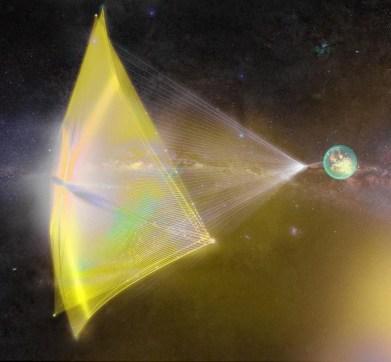 Novos dispositivos fotônicos podem permitir a exploração do espaço profundo