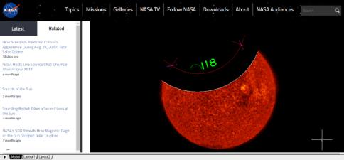 """Anomalias observadas no recente """"trânsito lunar"""""""