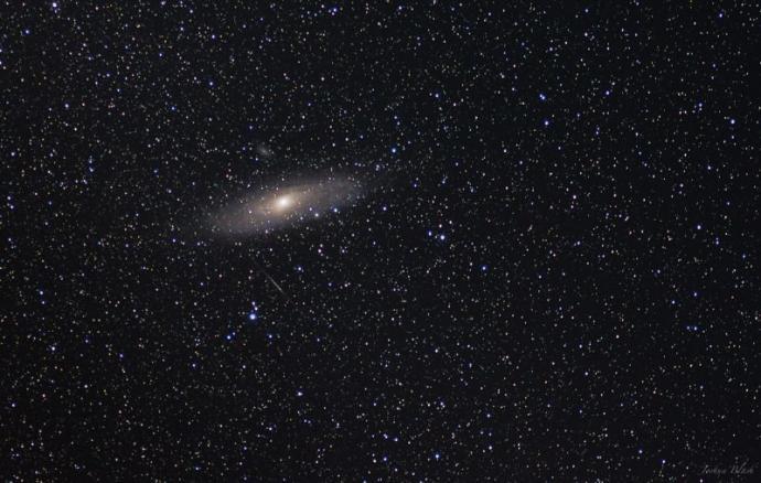 Este final de semana a galáxia Andrômeda será visível a olho nu Andromeda