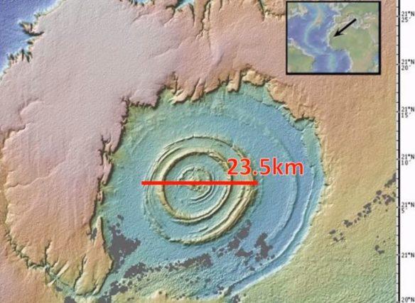 Atlântida enterrada no deserto do Saara