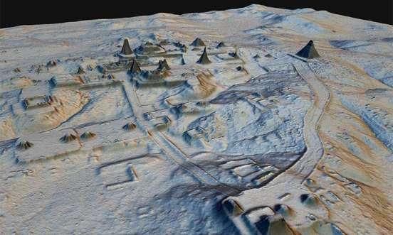 Estudo confirma enorme escala da civilização maia