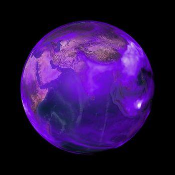 A vida alienígena pode ser roxa, e a Terra já foi roxa, dizem cientistas