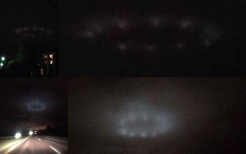 Anel de luzes aparece no céu em três locais diferentes nos EUA 1