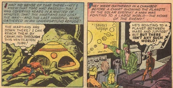A Face de Marte foi prevista em um gibi de 1958 2