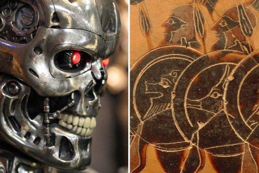 antigos gregos previram os robôs assassinos e a tecnologia moderna